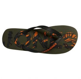 Jack & Jones Jfwprint Logo Flip Flop Pack